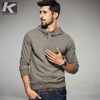 2016 Fashion Mens Hoodies Brand Clothing Male Sweatshirts Man Black Khaki Solid Pullover Clothes Tracksuits Sportswear