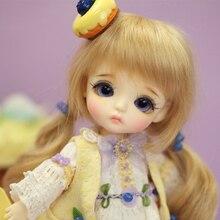 Oueneifs Lati jaune S. belle 1/8 bjd sd poupée figurines en résine corps modèle reborn bébé filles garçons poupées yeux Haute Qualité jouets