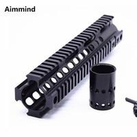 Tactical Handguard Rail System 10 inch handguard rail Mount for Airsoft AEG M4 /M16 AR 15 AR15 Black/ TAN