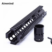 Tactical Handguard Rail System 10 inch handguard rail Mount for Airsoft AEG M4 /M16 AR 15 AR15 Black/ TAN
