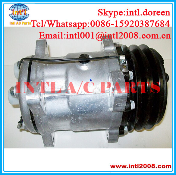 US $100 0 |Ear Mount Hor fitting Universal AC COMPRESSOR Sanden 508 SD508  SD5H14 6630 4536 6676 132mm 2A -in Air-conditioning Installation from