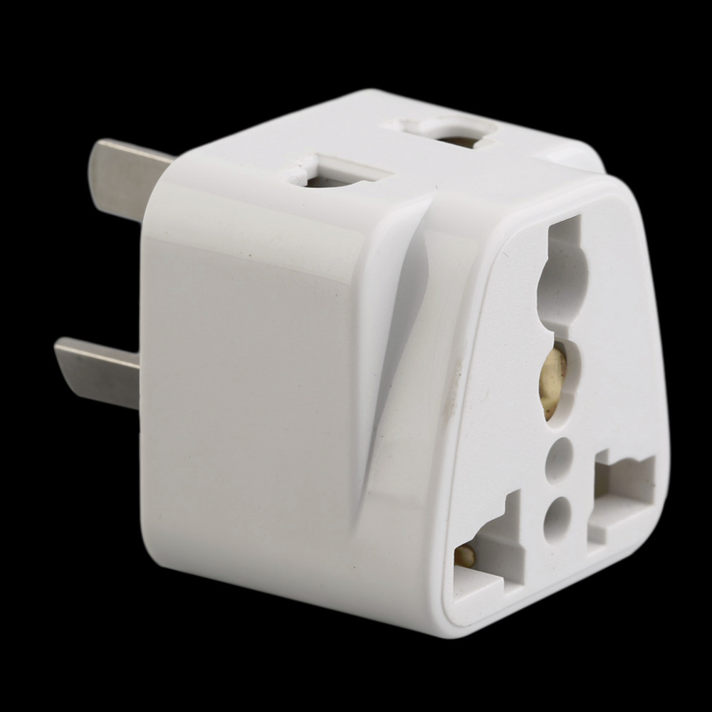 3 pin Chinese Power Plug Adapter Travel Converter Australia UK USA EU Wholesale dropshipping