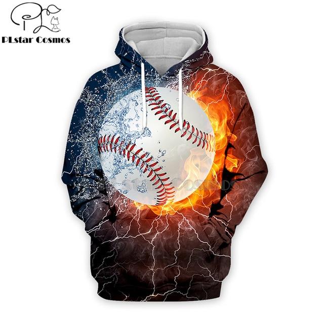 PLstar Cosmos sport baseball 3D Print Hoodies/Sweatshirt/Jacket/shirts Tees Men Women Galaxy Unisex streetwear Drop shipping-8