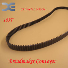 183T Perimeter 549mm Kitchen Appliance Parts Bread Maker Parts Breadmaker Conveyor Belts Free Shipping