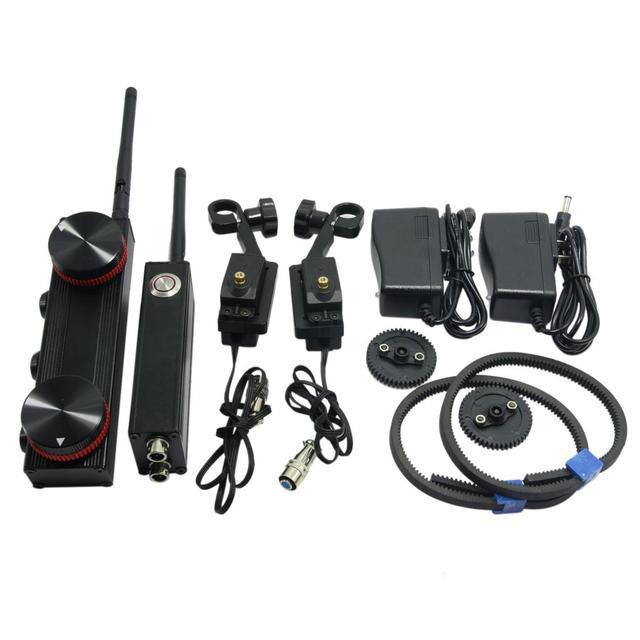 Двухканальный Беспроводной Следуйте Фокус SLR Электронные Дистанционного Управления Gimbal Контроллера Масштабирования