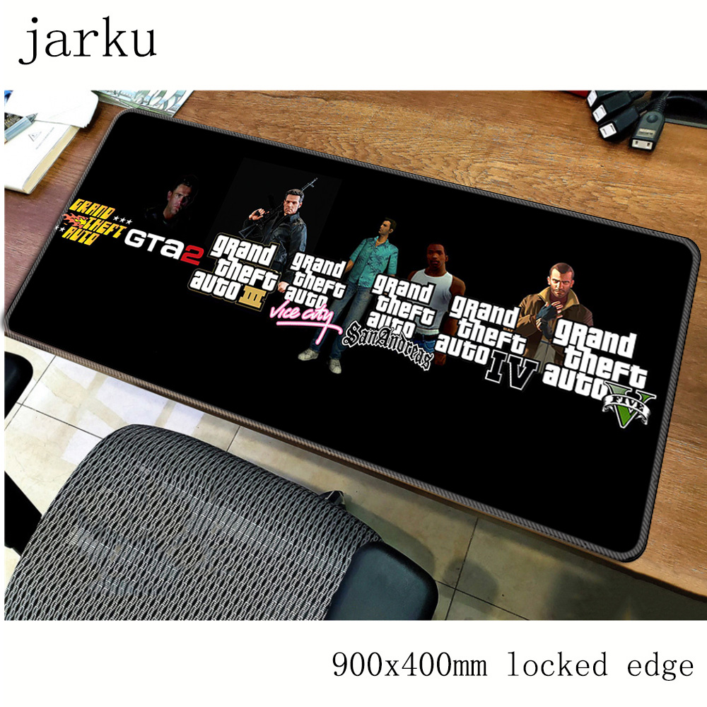 Gta V Mouse Pad Gamer 900x400mm Notbook Mouse Mat Large Gaming Mousepad Large Locrkand Pad Mouse PC Desk Padmouse