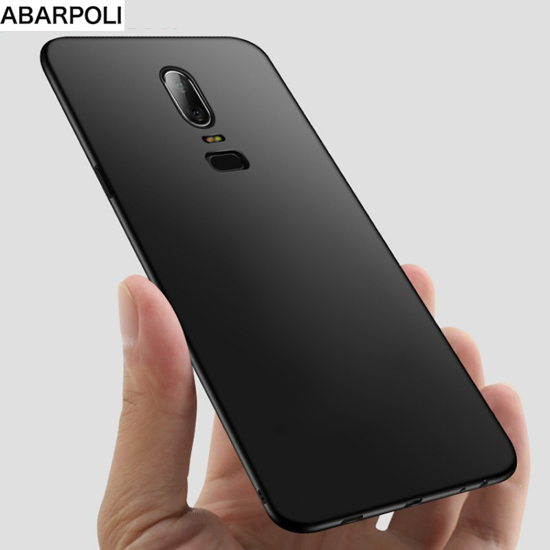Oneplus 6T Oneplus 6  5 5T Soft Case Clear Soft TPU Black Silicone Cover on OnePlus 6 A6000 6T A6013 A6010 oneplus 5 5t Coque