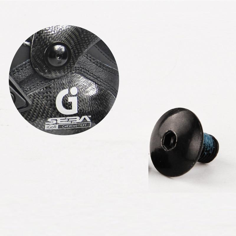 2 Pieces Original SEBA Igor Cuff Button Inline Skating Shoes Cuff Screw For SEBA Igor Or T Inline Skates Patines Nail