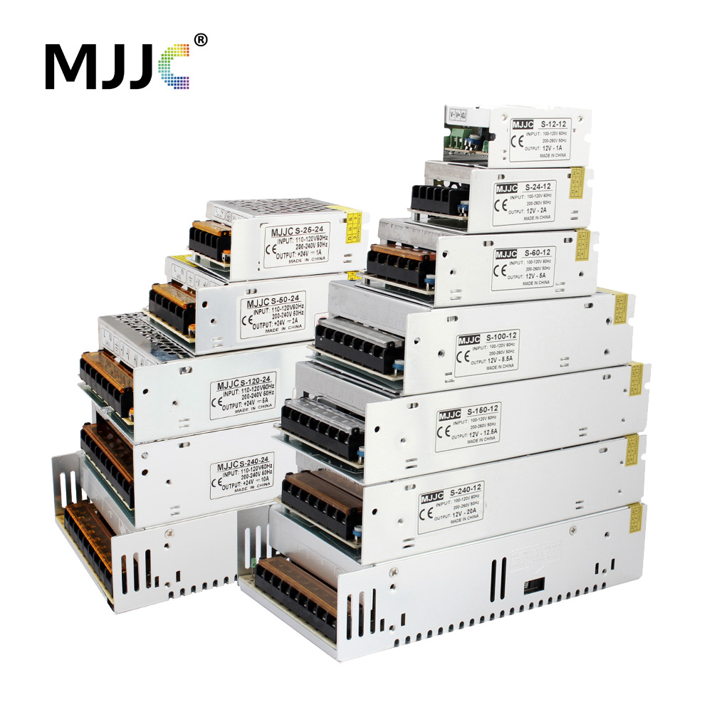 12 Volt Power Supply 24 Volt 5V 36V 48V LED Driver Adapter 12V Switching Power Supply Electronic Transformer For Strip Light