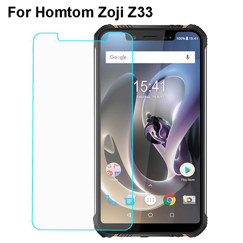 Homtom Zoji Z33 Tempered Glass Steel Film Front Protective For Homtom Zoji Z33 Glass Screen Protector Mobile Phone Film image