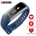 Смарт-браслет CURREN R5 PRO, пульсометр, измеритель артериального давления, кислородный оксиметр, спортивные часы-браслет, умные часы для iOS, Android