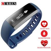 CURREN R5 PRO Smart Wrist Band Heart Rate Blood Pressure Oxygen Oximeter Sport Bracelet Watch Intelligent