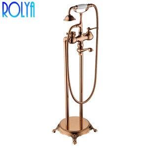 Floor Mounted Bath Shower Mixe
