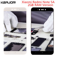 Redmi Note 5A Lcd Screen Xiami Redmi Note 5a Display Quality AAA Touch Screen Replacement For