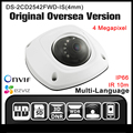 HIKVISION DS-2CD2542FWD-IS(4mm) Original English version 4MP Mini camera security Camera WIFI POE IP CCTV camera H264 HD Onvif