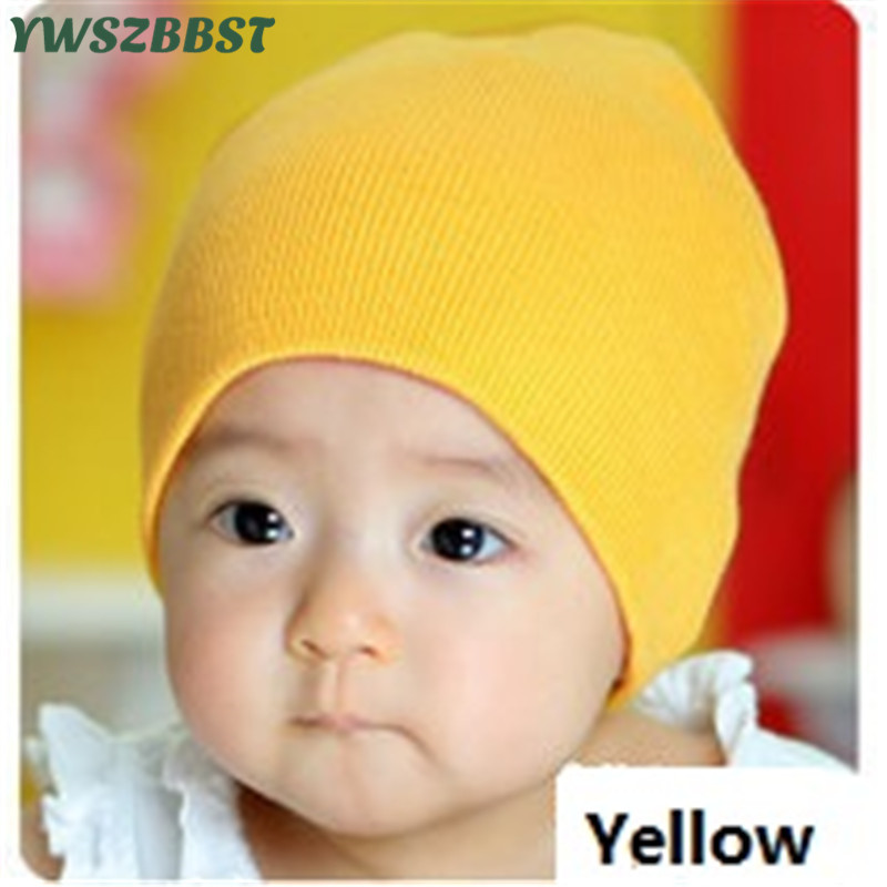 Crochet Fashion Knitting Baby Hat Warm Caps Infant Hats Boys Girls Caps Spring Autumn Winter New Baby Beanies