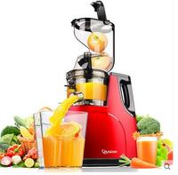 Large Feed Chute Whole Slow Juicer, wide feeding tubes, Quiet low speed juice extractor,fruit vegetable citrus,2017 New arrival