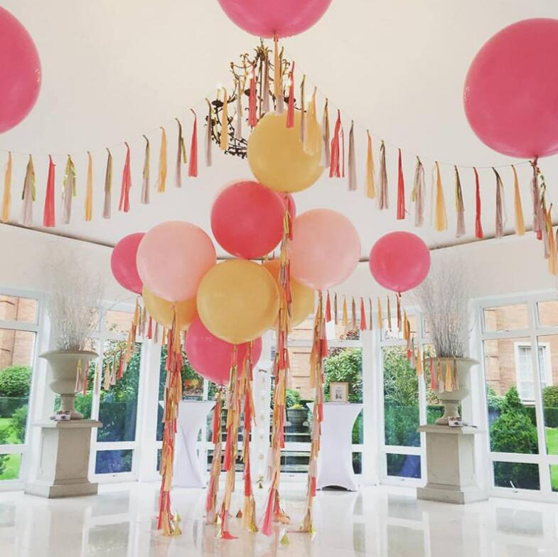 Balloon Decorations For Wedding Reception Ideas: 18inch 45cm Giant Latex Balloon Party Supplies Festival