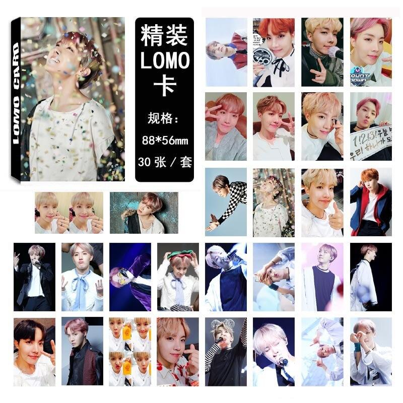 [TOOL]BTS youth Zheng Haoxi J-HOPE single plates 03 LOMO box set with sweat and tears #0385