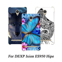 High Quality soft tpu Cover Phone Case For DEXP Ixion ES950 Hipe Silicone Back Cover soft tpu Protective Cover(China)