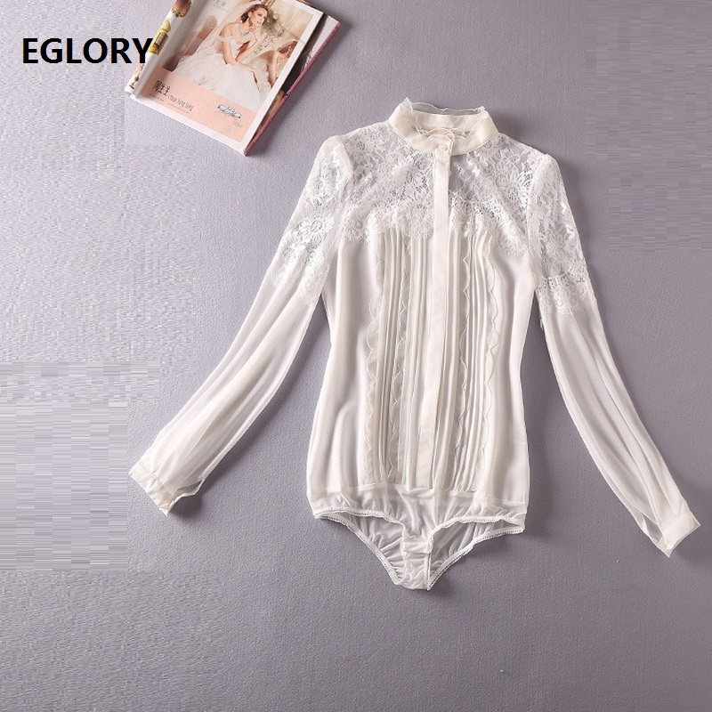 2018 New Fashion Blouses Women Crochet Lace Patchwork Long Sleeve Black White Formal Blouse Office Work Lady Shirts Blusas Femme женские блузки и рубашки women blouses chiffon chemise femme crochet long sleeve shirts 2015 blusas femininas 980f25 501g