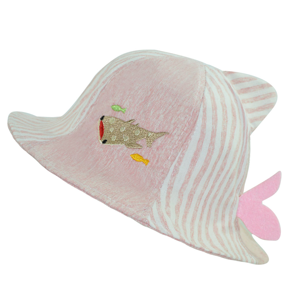 d5cf32b15fe Baby Grils Summer Bucket Hat Funny Cartoon Whale Cotton Sun Hat Casual  Holiday Beach Sun Cap for Kids-in Hats   Caps from Mother   Kids on  Aliexpress.com ...