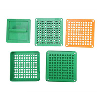 Newest 100 Holes Capsule Filler Board Food Grade ABS Filling Tools Fit for 0 Capsule Promotion