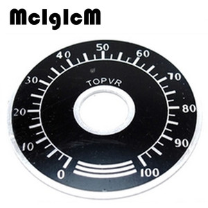 Image 2 - 1000pcs 0 100 WTH118 פוטנציומטר knob בקנה מידה דיגיטלית בקנה מידה יכול להיות מצויד WX112 TOPVR