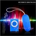 20 Modos de MP3 Huevo Vibrante Alejado, Control remoto Vibrador de la Bala, Productos del sexo, Huevo Vibrador inalámbrico, Juguetes adultos Del Sexo