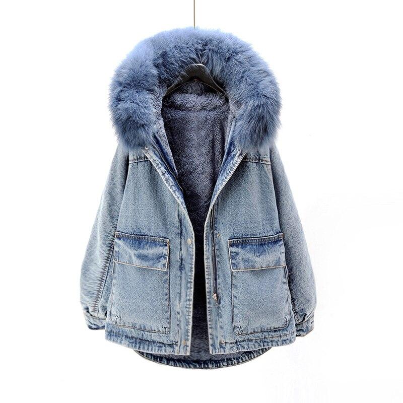 Cappotti Casual Inverno Volpe Cotone Nuove Di Imbottito