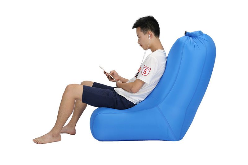 Sports & Entertainment Hearty Inflatable Couch Lazy Sofa Air Chair Camping Pool Festival Summer Accessories For Beach Collapsible Air Beanbag Pouch Couch Bag