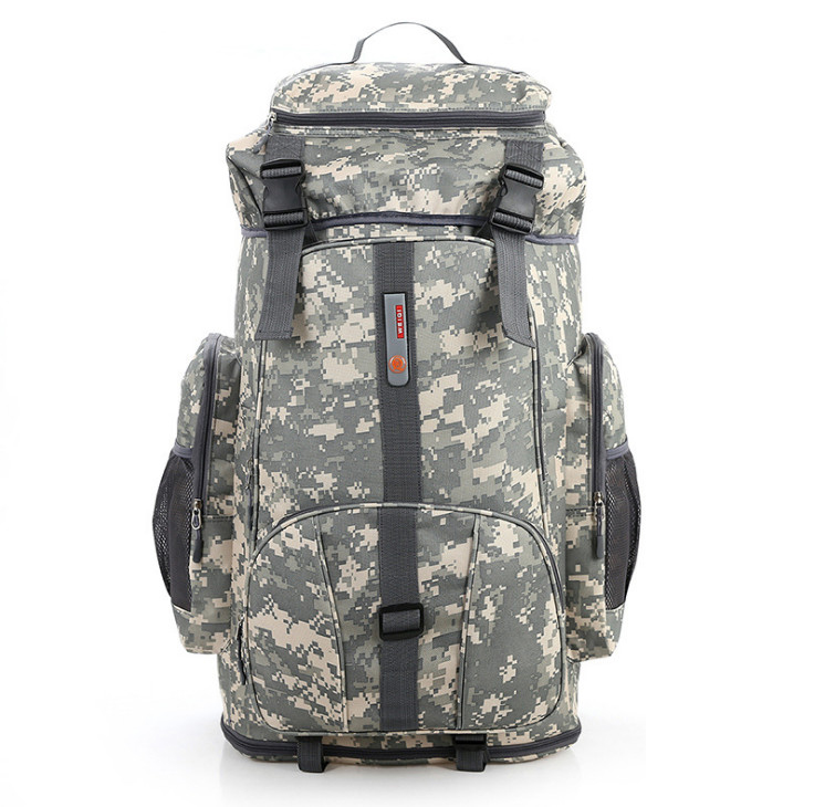 80l Large Capacity, Can Be After Extende To 100l Big Camouflage Backpack Extensible Luggage