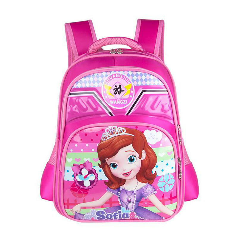 New Fashion Cartoon Children School Bag Princess Kids Backpacks for Girls Kindergarten School Bags 1-5 Grade Student Bookbags ...
