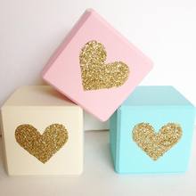 INS Nordic Wooden Blocks Ornaments Toys Wood Building Block Decorative For Baby Kids Room Photography Props Home Decor Figurines ins nordic style wooden rainbow building blocks for baby room decoration ornaments wood educational toys gifts photography props