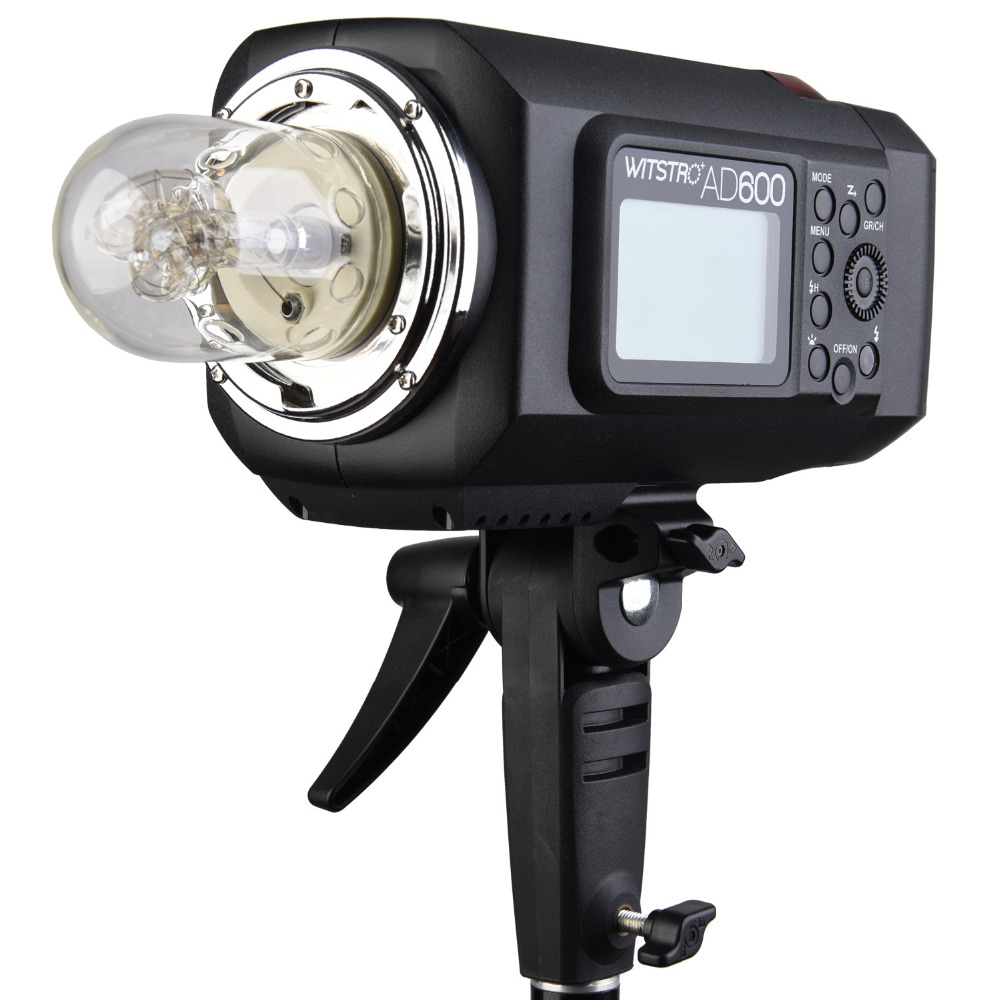 Godox Wistro AD600 AD600M Manual Version GN87 HSS 18000S 2.4G X System All-In-One Outdoor Strobe Flash Light (Godox Mount)