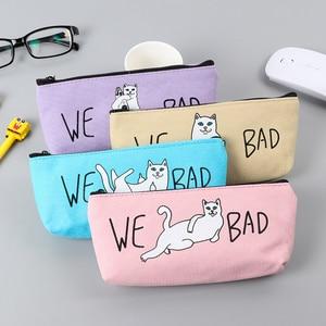 New Bad Cat pencil case cute c