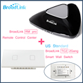 Broadlink RM PRO+2Gang TC2 US Standard,Intelligent WIFI+IR+RF Control+ON/OFF Touch remote Wall Lamp Switch,Smart Home Automation