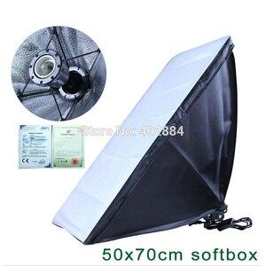 Image 3 - Софтбокс для фотостудии, 2 шт., 50*70 см, E27, держатель для одной лампы, 100 240 В, непрерывный светильник, диффузор, мягкая коробка, 2 м, светильник, подставка, 2 шт.