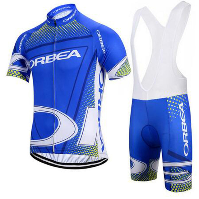 ac2ed2ed2 breathable orbea cycling clothing 2018 Pro team summer cycling jersey  mountain bike clothes Mtb bicycle shirt and shorts set G25