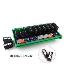 Original Omron single module, 4-way 8-pin 24V compatible NPN/PNP with rail mounting стоимость
