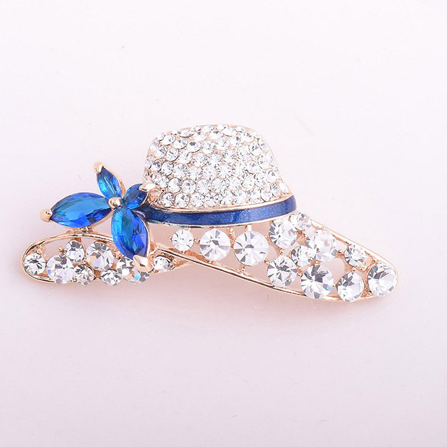 Fashion Hat brooches for women pins