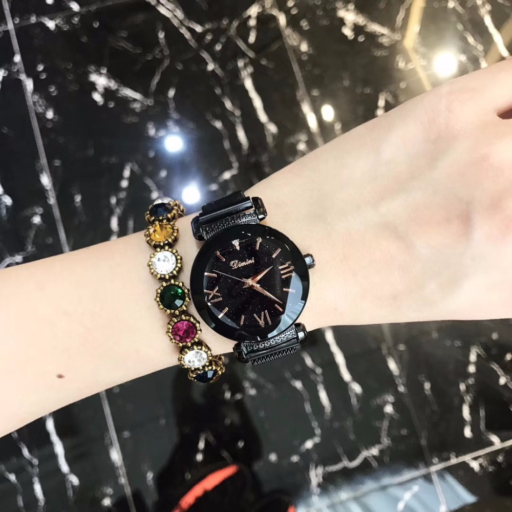 2019 Luxury Brand lady Watch Women Dress Watch Fashion Rose Gold Quartz Watches Female Magnet Belt Stainless Steel Wristwatches2019 Luxury Brand lady Watch Women Dress Watch Fashion Rose Gold Quartz Watches Female Magnet Belt Stainless Steel Wristwatches