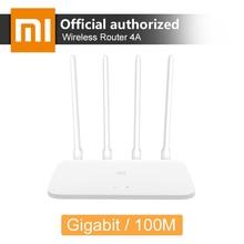 Оригинальный Xiaomi Mi маршрутизатор 4A 2,4 5 ГГц Wi Fi 16 Мб Встроенная память 64 MB/128 MB DDR3 высокого усиления 4 антенны удаленного Wi Fi ретранслятор приложение Управление