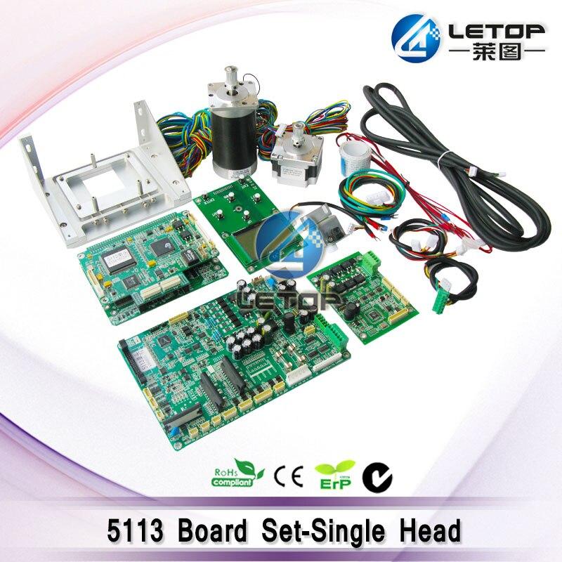 Imprimante 5113 carte mère impression Circuit imprimé (inclus une carte ensemble + dc et moteur pas à pas + support 5113 + câble)