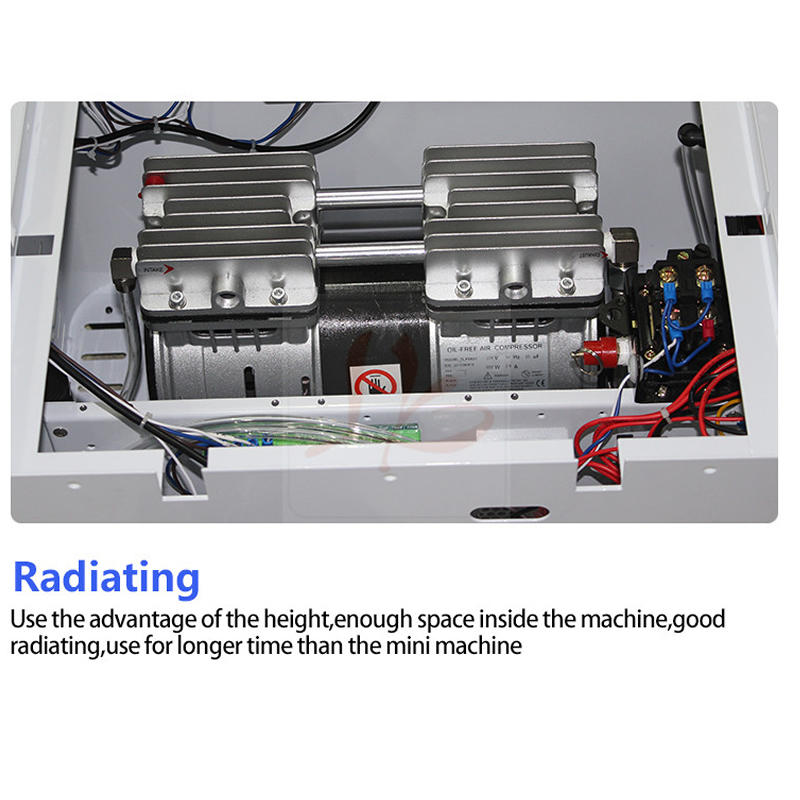 NEW auto air lock LY 888A+ OCA vacuum laminator soft hard airbag type all in one touch screen laminating Max 12 inch - 3