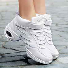 2016 Brand High Quality Ladies White Black Sneakers Modern Shoe Zapatos Danza Platform Dancing Women Sports Ballroom Dance Shoes