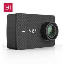 YI 4 K + (Plus) Action Caméra avec boîtier Étanche et Cardan Ensemble Édition Internationale PREMIÈRE 4 K/60fps Amba 2.2 «PMA RAM EIS WIFI