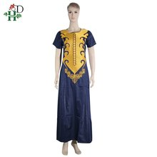 south africa couple clothes african dresses for men and women dashiki clothing bazin riche tops dress no pant(China)