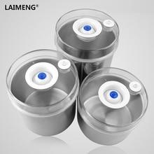 Laimeng моющиеся вакуум Еда контейнер для ручной насос вакуумный упаковщик машина 2 шт./лот S164
