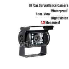 AHD Rear View Camera DC12V 1.3MP Waterproof IR Night Vision Outdoor for Vehicle Truck Lorry School Bus Reverse Backup Security